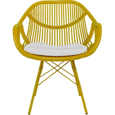 Stockholm Arm Chair Finish: Sunflower Yellow