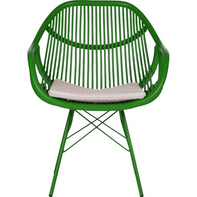 Stockholm Arm Chair Finish: Bright Green