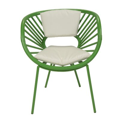 Aura Armchair Finish: Bright Green