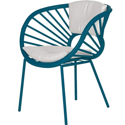 Aura Armchair Finish: Pacific Blue