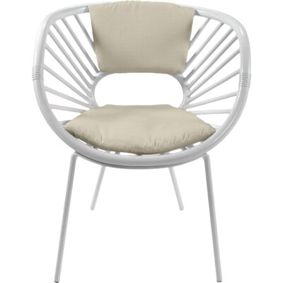 Aura Armchair Finish: Bright White