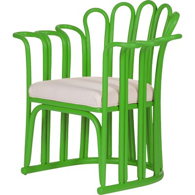 Calla Occasional Armchair Finish: Bright Green