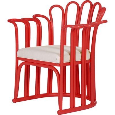 Calla Occasional Chair Finish: Fire Red
