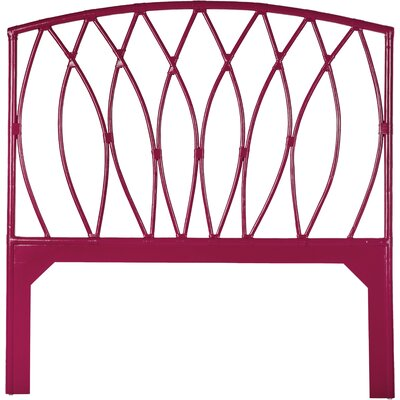 Royal Palm Open-Frame Headboard Finish: Hibiscus Pink, Size: Queen