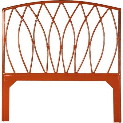 Royal Palm Open-Frame Headboard Finish: Orange Slice, Size: Queen
