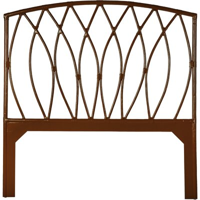 Royal Palm Open-Frame Headboard Finish: Golden Mahogany, Size: Queen