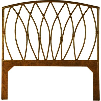 Royal Palm Open-Frame Headboard Finish: Tortoise, Size: Queen