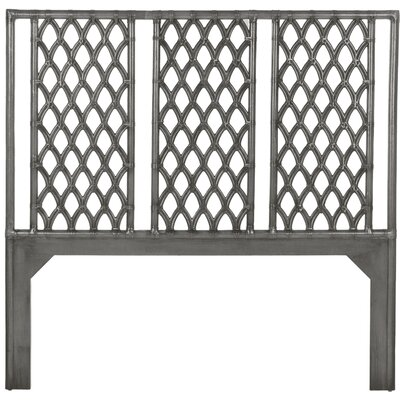 Casablanca Open-Frame Headboard Size: Queen, Finish: Smoke
