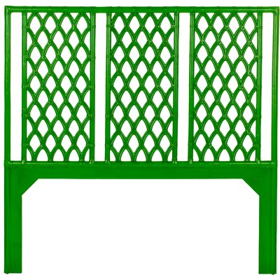 Casablanca Open-Frame Headboard Size: Twin, Finish: Green Apple