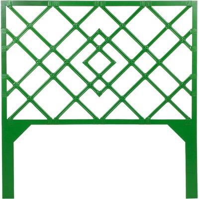 Darien Open-Frame Headboard Finish: Bright Green, Size: Twin