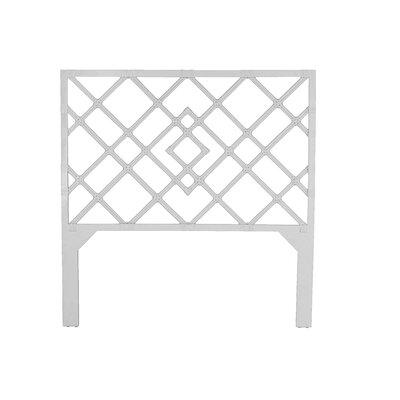 Darien Open-Frame Headboard Finish: White, Size: Twin