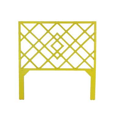 Darien Open-Frame Headboard Finish: Sunflower Yellow, Size: Queen