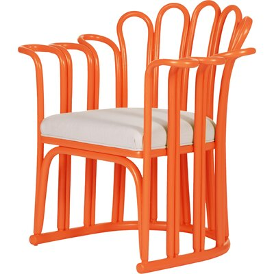 Calla Occasional Armchair Finish: Citrus Orange