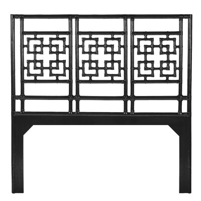 Palm Springs Open-Frame Headboard Size: King, Finish: Satin Black