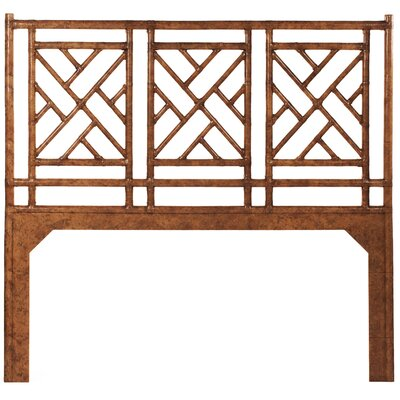 Chinese Chippendale Open-Frame Headboard Size: King, Finish: Tortoise
