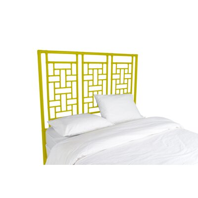 Ohana Open-Frame Headboard Finish: Sunflower Yellow, Size: Twin