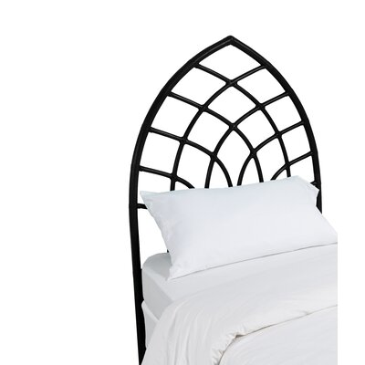 Cathedral Twin Open-Frame Headboard Color: Black