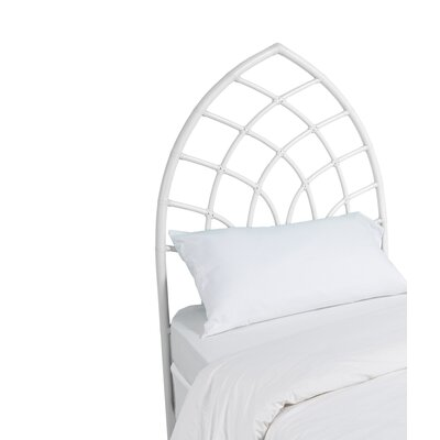 Cathedral Twin Open-Frame Headboard Color: Bright White