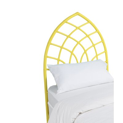 Cathedral Twin Open-Frame Headboard Color: Sunflower Yellow