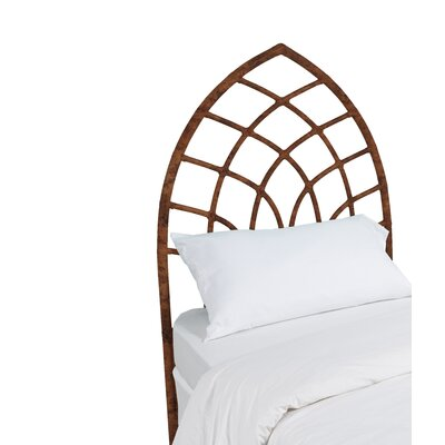 Cathedral Twin Open-Frame Headboard Finish: Tortoise Shell