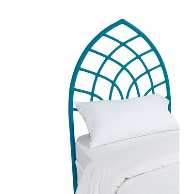 Cathedral Twin Open-Frame Headboard Finish: Pacific Blue