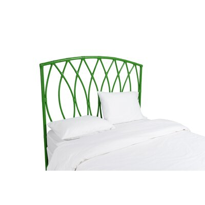 Royal Palm Open Frame Headboard Finish: Bright Green, Size: Twin