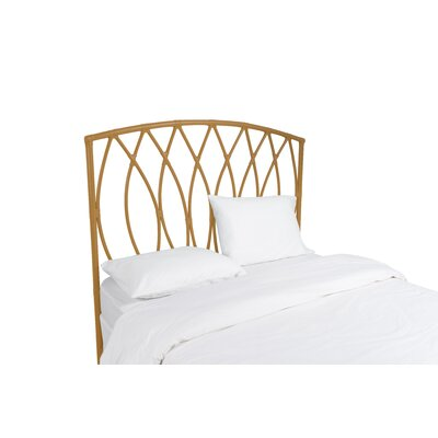 Royal Palm Open Frame Headboard Finish: Camel Brown, Size: Twin
