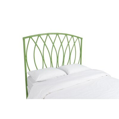Royal Palm Open Frame Headboard Color: Celery Green, Size: Twin
