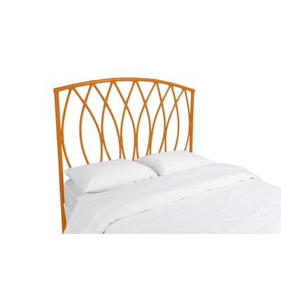 Royal Palm Open Frame Headboard Color: Citrus Orange, Size: Twin