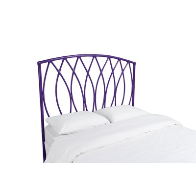 Royal Palm Open Frame Headboard Color: Perfect Purple, Size: Twin