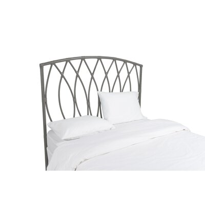 Royal Palm Open Frame Headboard Color: Steel Gray, Size: Twin