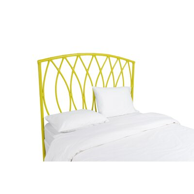 Royal Palm Open Frame Headboard Finish: Sunflower Yellow, Size: Queen
