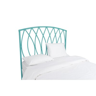 Royal Palm Open Frame Headboard Color: Turquoise, Size: Twin