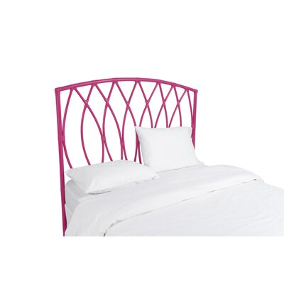 Royal Palm Open Frame Headboard Color: Hot Pink, Size: Twin