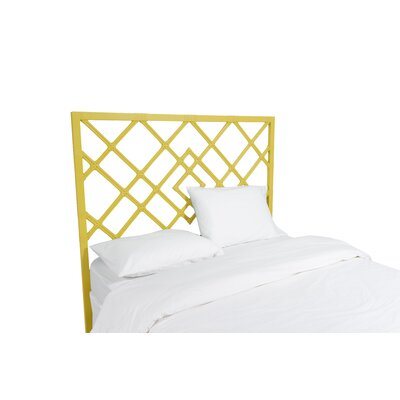Darien Open Frame Headboard Color: Sunflower Yellow, Size: Twin