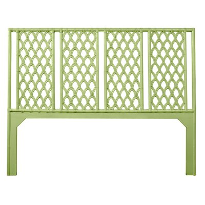 Casablanca Open-Frame Headboard Size: Twin, Color: Celery Green