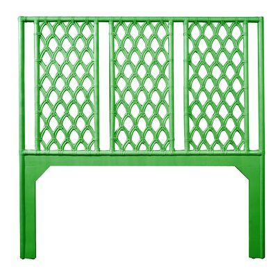 Casablanca Queen Open-Frame Headboard Color: Bright Green