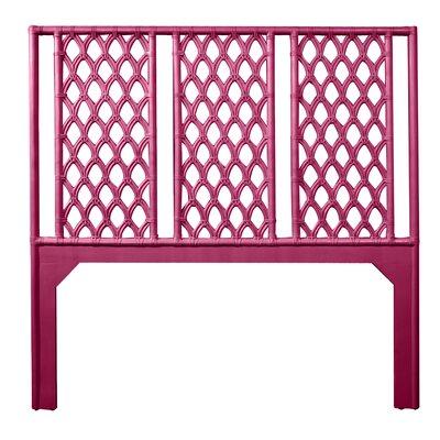 Casablanca Queen Open-Frame Headboard Color: Hot Pink