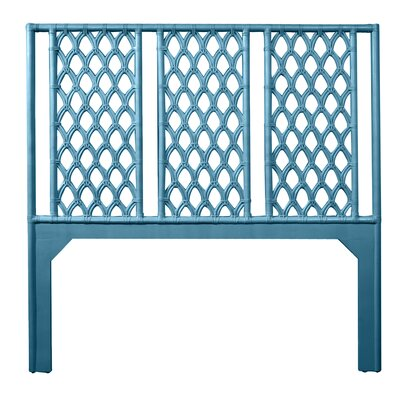 Casablanca Queen Open-Frame Headboard Color: Pacific Blue