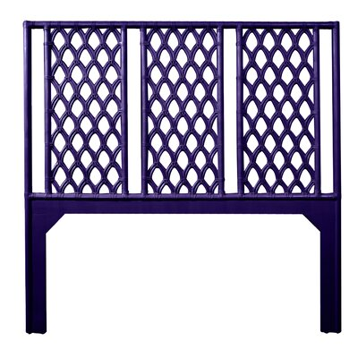 Casablanca Queen Open-Frame Headboard Color: Perfect Purple