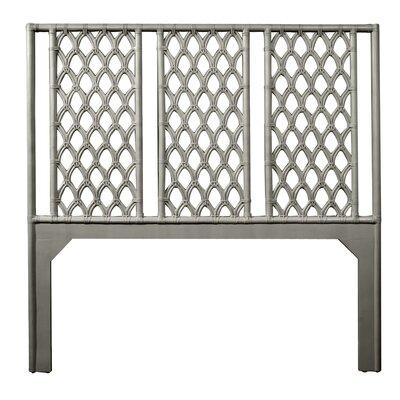 Casablanca Queen Open-Frame Headboard Color: Steel Gray