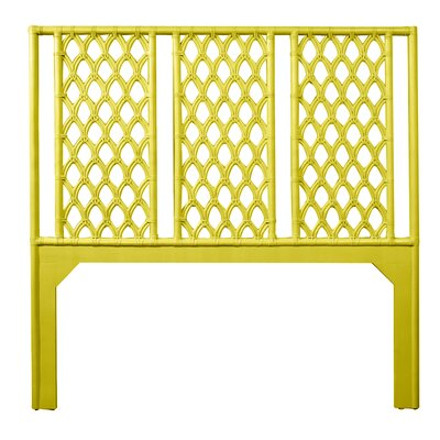 Casablanca Queen Open-Frame Headboard Color: Sunflower Yellow