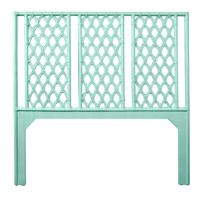 Casablanca Queen Open-Frame Headboard Color: Turquoise