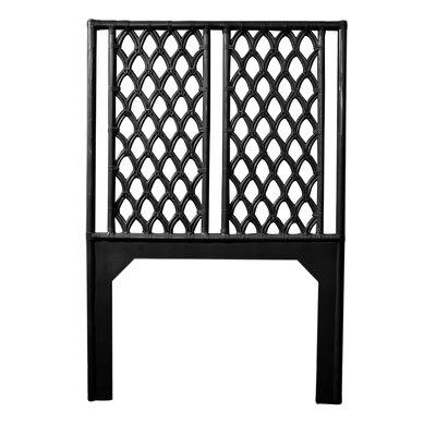 Casablanca Twin Open-Frame Headboard Color: Black