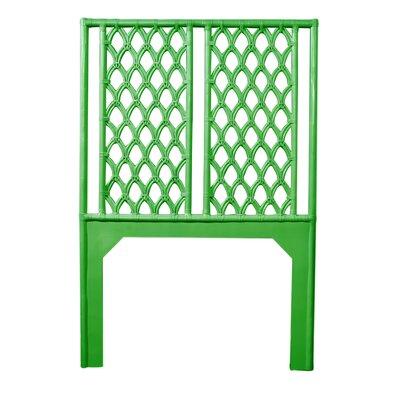 Casablanca Twin Open-Frame Headboard Color: Bright Green