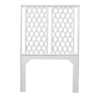Casablanca Twin Open-Frame Headboard Color: Bright White