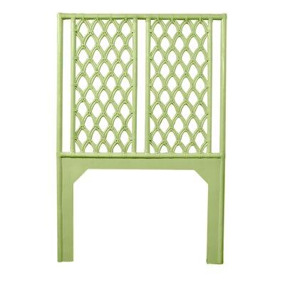 Casablanca Twin Open-Frame Headboard Color: Celery Green