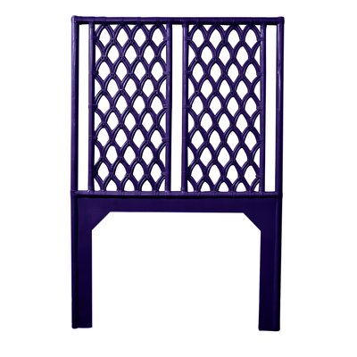 Casablanca Twin Open-Frame Headboard Color: Perfect Purple