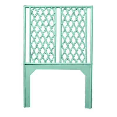 Casablanca Twin Open-Frame Headboard Color: Turquoise