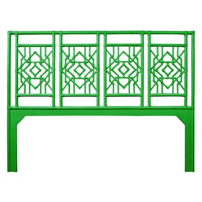 Tulum Open-Frame Headboard Size: Twin, Color: Bright Green